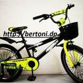 Детский двухколесный велосипед Hammer-20 S600. 500