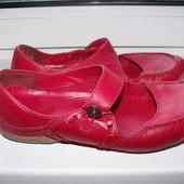 Кожаные английские  туфли clarks р.7 стелька 26 см