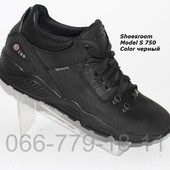 Цена снижена!Кроссовки Jordan черного цвета, кожаные