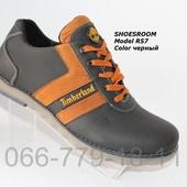 Мужские кожаные туфли Timberland демисезонные