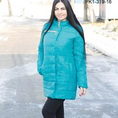 "Молодежный зимний плащик ""Карэна"" (319)"
