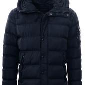 куртка зимняя р. M-XXL черн. и т. син. Glo Story