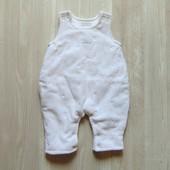 Тёплый человечек-комбинезон для новорожденного. Mamas&Papas. Размер 0-1 месяц.
