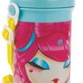 Бутылка для воды с трубочкой
