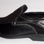 (40) Шикарные кожаные брендовые туфли!