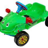 Машина педальная муз. руль Хэрби 09-901 на педалях