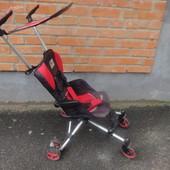 Самая легкая и компактная коляска-трость Geoby D889 паучек візок, прогулочная, прогулка, Mickey
