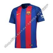 Футбольная футболка Барселоны 2016-2017 Nike домашняя (1926)