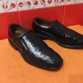Туфли мужские р.42/43(8 W)  Rockport, натуральная кожа.