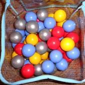 Мягкие шарики ELC для сухого бассейна