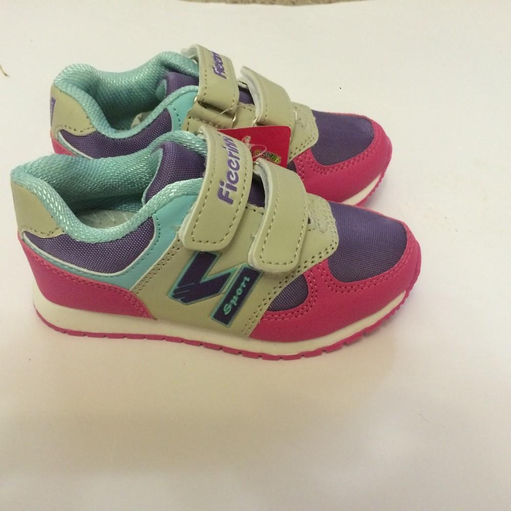 Кроссовки фиолетовые fieerinni для девочки фото №3