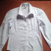 блузочки для школы, белая, розовая