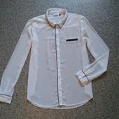 Блуза с черной отделкой 40 р. Only