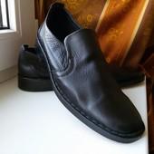 Крутые новые мужские туфли кожа Vero Cuoio, размер 6