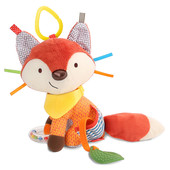 Skip Hop Развивающая игрушка-подвеска Лиса,лисица, лисичка