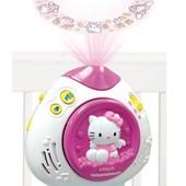 Ночник- проектор музыка и свет, Hello Kitty, Vtech