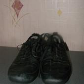 Фирменные кроссовки Geox 37р., 24 см стелька кожа
