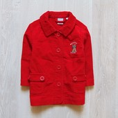 Яркий вельветовый пиджак для девочки. Lindex. Размер 1 год. Состояние: новой вещи