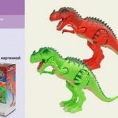 Динозавр с проектором
