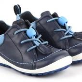 Оригинал. Кожаные ботиночки Ecco для мальчика рр 19