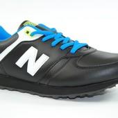 New Balance  кроссовки черные мужские