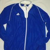 отличная спортивная куртка олимпийка для крупного мужчины от Adidas, p.XXL Оригинал!