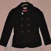 Распродажа стока! Короткое пальто для девочки 9-10 лет рост 140 см