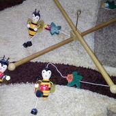 Деревянный мобиль Подвесная игрушка