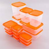 Самые популярные контейнеры для хранения продуктов . ИКЕА . в наличии .