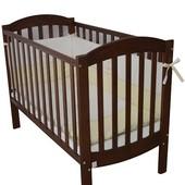 Детская кроватка Veres Соня ЛД 10 орех