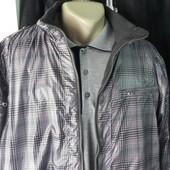 Демисезонная курточка двусторонняя XL