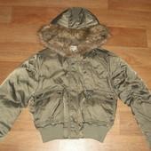 Укороченная куртка-пуховик Calvin Klein р. М
