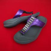 Шлёпанцы вьетнамки Clarks Violet 40 размер