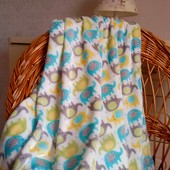 Детский плед одеяло Слоники