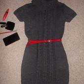 тепленькое платье для худышки XS-S
