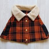Стильное манто для девочки. Asos. Размер one size, ориентировочно на 8-10 лет. Состояние: идеальное.