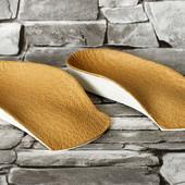 Детские ортопедические стельки, полустельки для плоско-вальгусной деформации