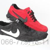 Замшевые мужские кроссовки, разные цвета