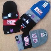 Акція! Фірмові шапки  Lа, Ny, Chicago bulls, Оbey