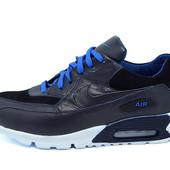 Кроссовки Nike air max Е6  (синие, красные)