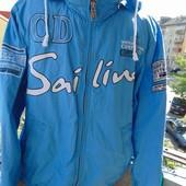Фирменная стильная деми курточка бренд Camp David (Кэмп Дэвид).Унисекс .м-л .