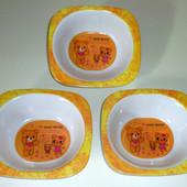 Детские тарелочки Мишки на 250 мл.