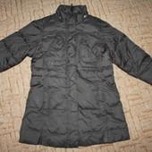 балоневое демисезонное пальто для девочки