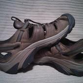 Фирменные комбинированные трекинговые сандалии Keen Waterproof США. 45