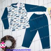 Пижама на мальчика, 116 122 размер, 100% хлопок, Турция