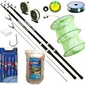 Рыболовный набор на Две удочки 10в1 с кольцами