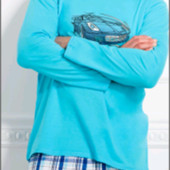 Мужская пижама комплект для дома 2 цвета Польша