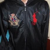 Фирменная стильная кофта мастерка олимпийка Polo Ralph Lauren (Ральф Лорен)