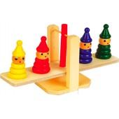 Деревянная игрушка балансир-весы EZ6036