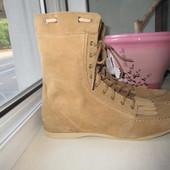 Продам замшевые ботинки Zara 40 р.